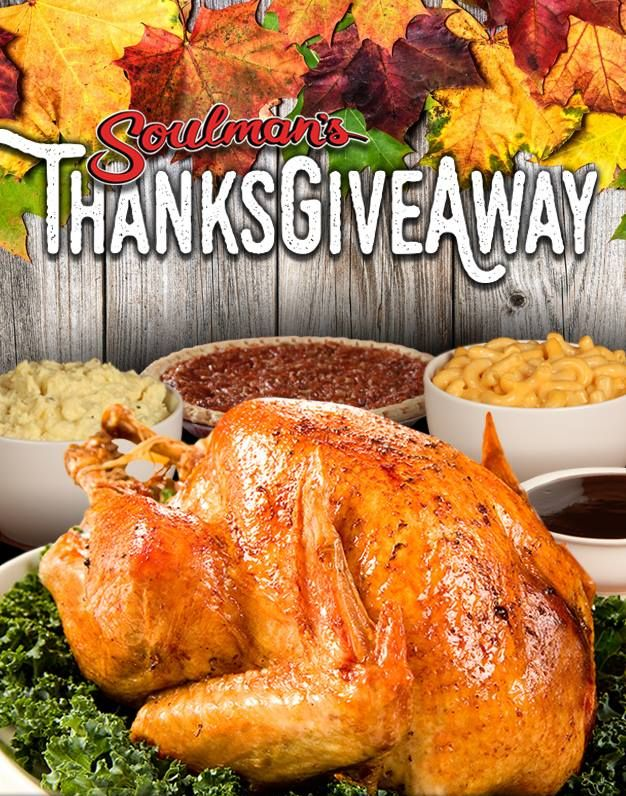 Soulman's Bar-B-Que Brings Thanksgiveaway Back to North Texas