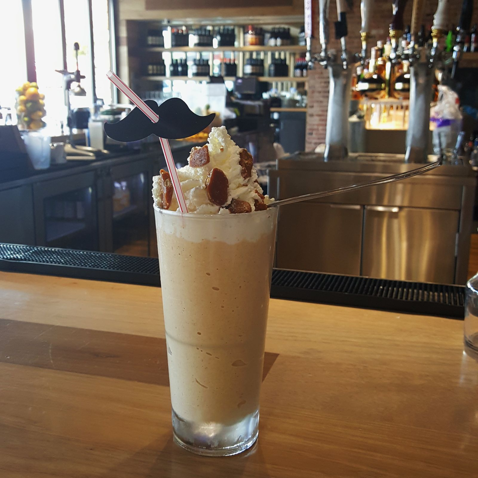 Zinburger Wine & Burger Bar To Help Fight Prostate Cancer with Pumpkin Stache Shake
