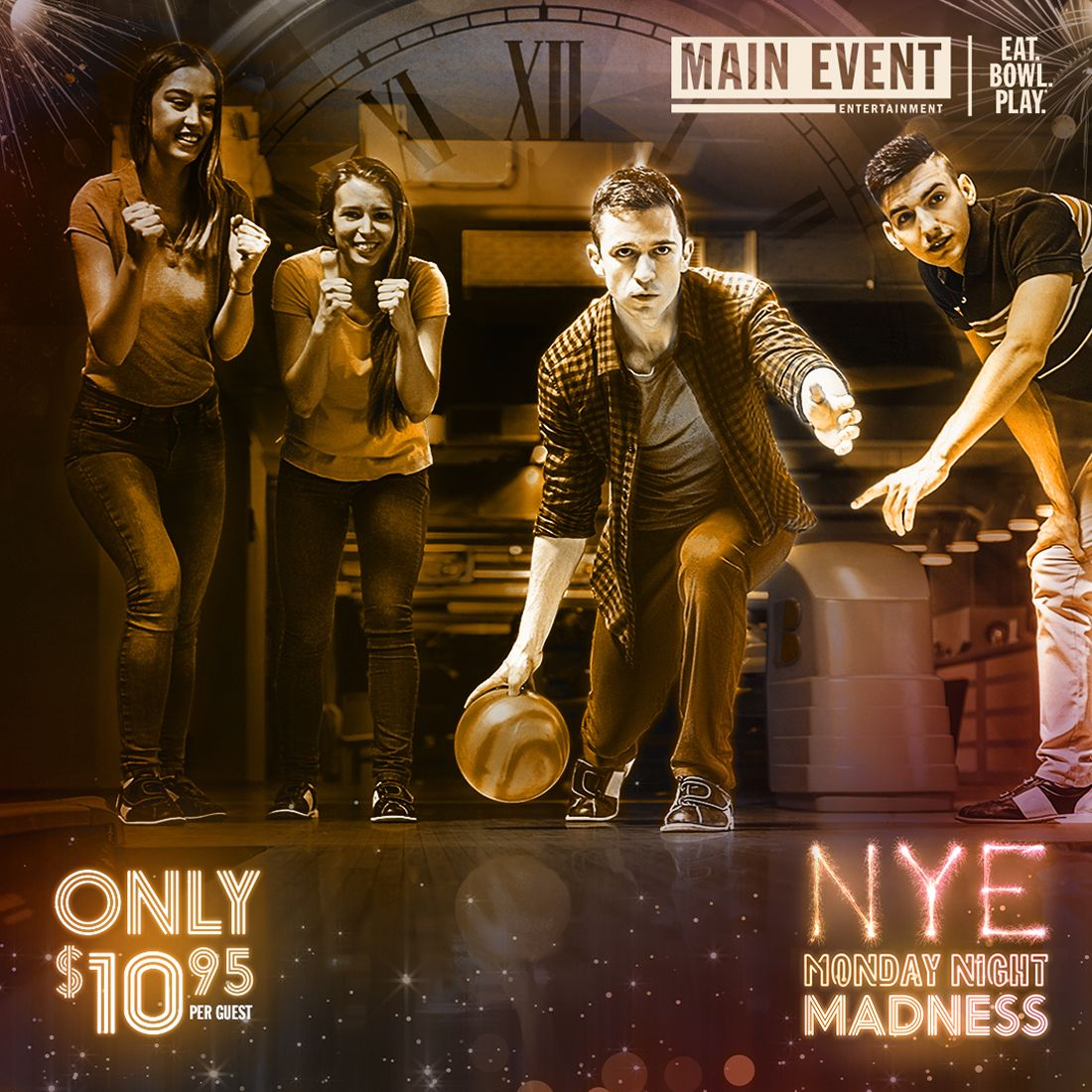 Ring in the New Year at Main Event Entertainment ...