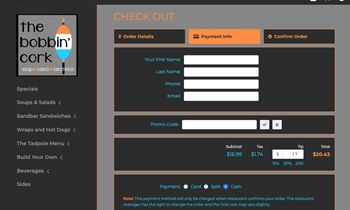 Digital Diner Supports Promo Codes with Online Ordering