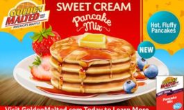 Golden Malted Waffles & Pancakes Introduces New Sweet Cream Pancake Mix