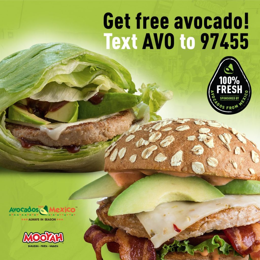 MOOYAH Burgers, Fries & Shakes Partners with Avocados From Mexico to Kick Off 2019