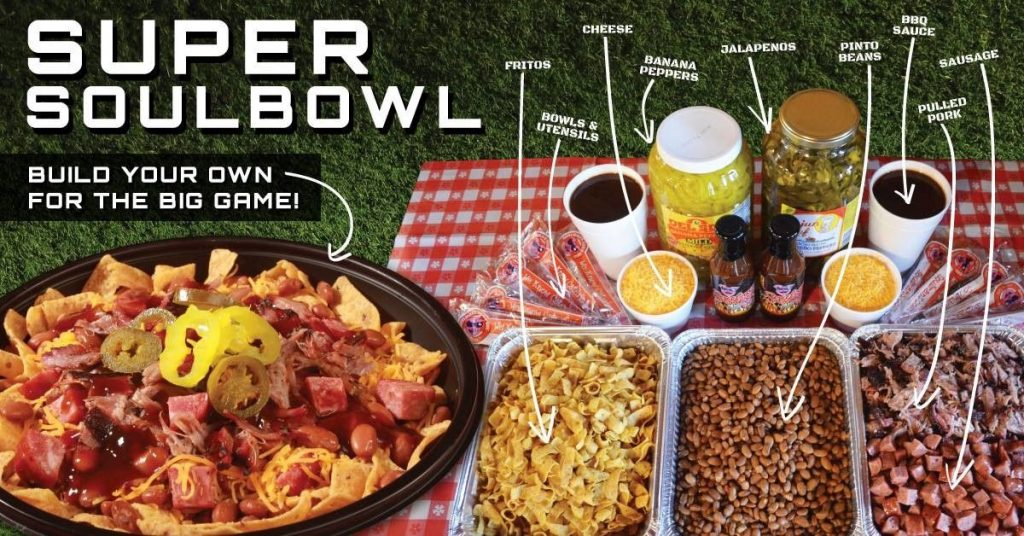 Soulman's Bar-B-Que Gets its Game On with the Super SoulBowl