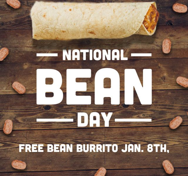 Taco Bueno Takes Beans to Heart, Celebrates National Bean Day with Free Bean Burritos, Jan. 8