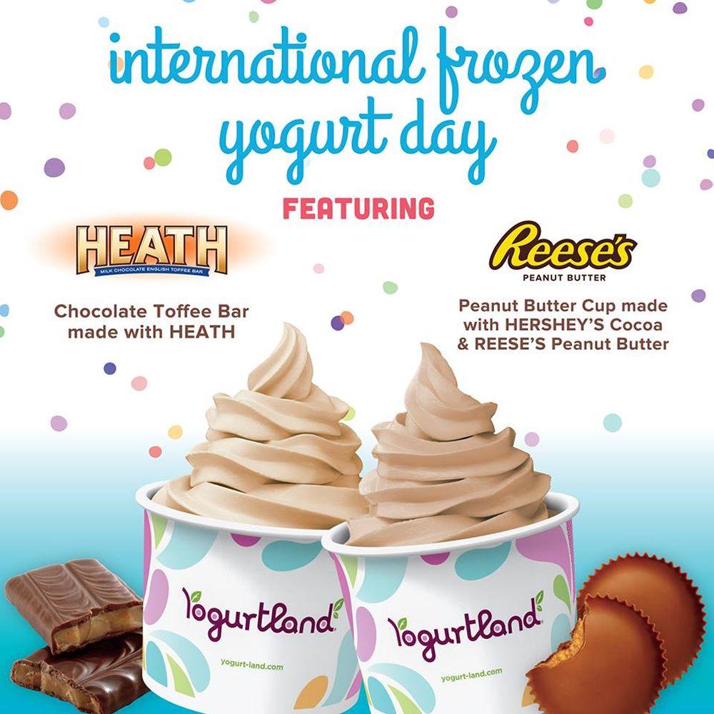 Yogurtland Celebrates Eighth Annual International Frozen Yogurt Day on February 6, 2019