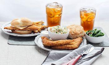The BojAngler Fish Sandwich & Platter is Offishally Back at Bojangles'