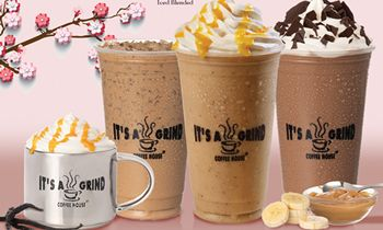 Make Your Vanilla Bean Dreams Come True at It's A Grind Coffee House