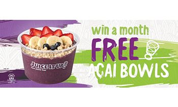 """Discover the """"Superfruits of the Amazon"""" at Juice It Up! this April Açaí Month"""