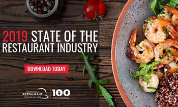 National Restaurant Association Forecasts Restaurants will Add 1.6 Million New Jobs by 2029; 2019 Industry Sales Projected to Reach $863 Billion