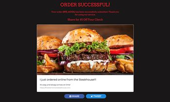 Drive New Revenue and Customers with Digital Diner's Online Ordering Social Media Share