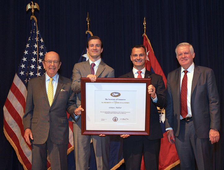 Golden Malted Waffles Receives Presidential Award for Exports