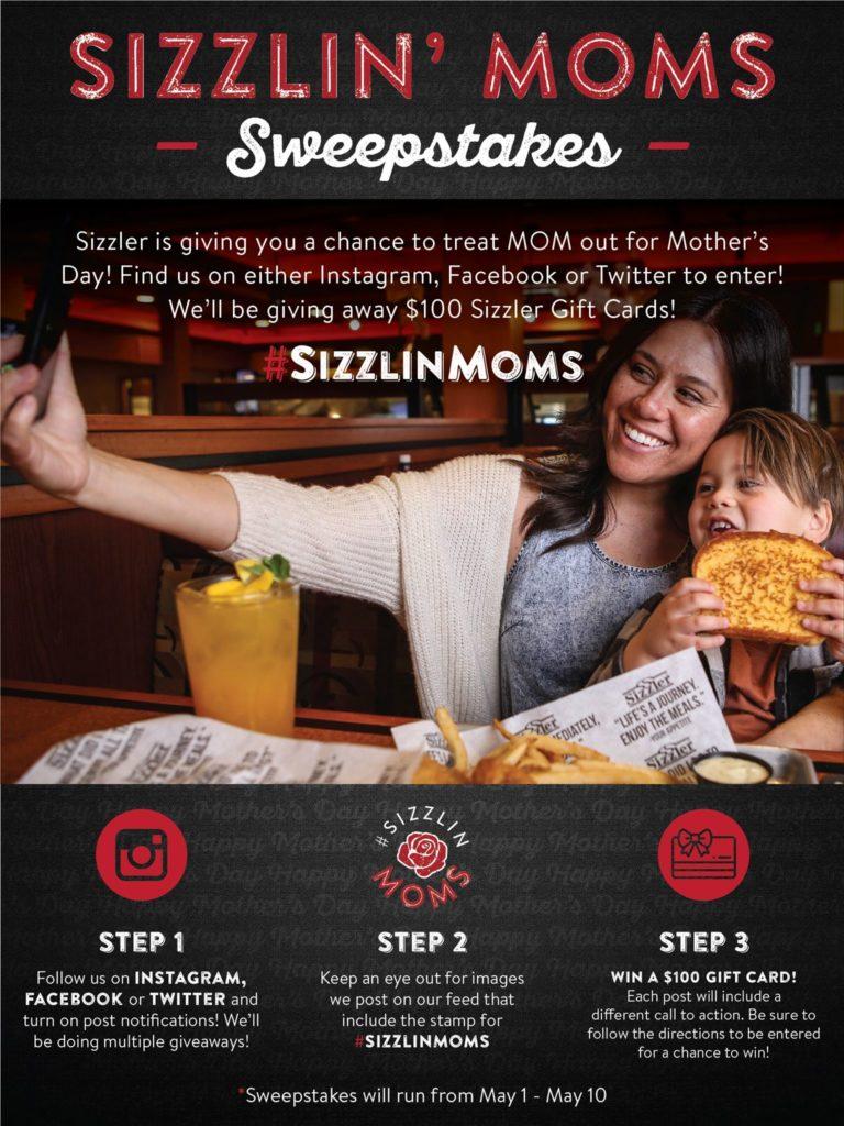 Sizzler Kicks Off Celebration Season with Series of Social Media Sweepstakes