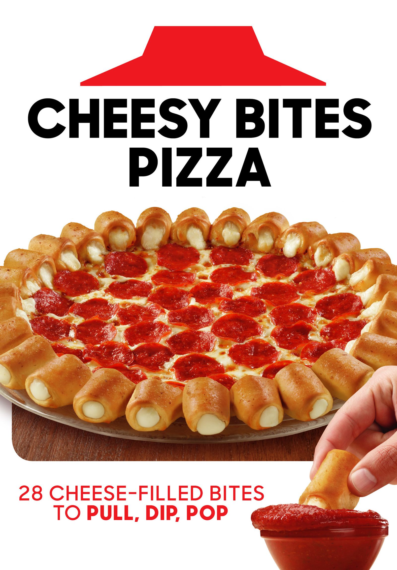 Back By Popular Demand, Cheesy Bites Pizza Pulls, Dips And Pops Its Way Back Onto Pizza Hut Menus For A Limited Time