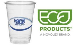 Eco-Products Increases Use of Post-Consumer Recycled Plastic in BlueStripe Cups, Becomes an 'APR Recycling Demand Champion'