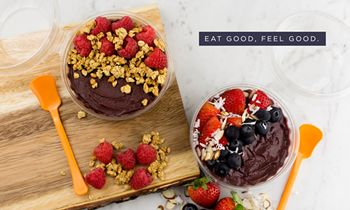 Orange Leaf Launches Acai Bowls for Summer