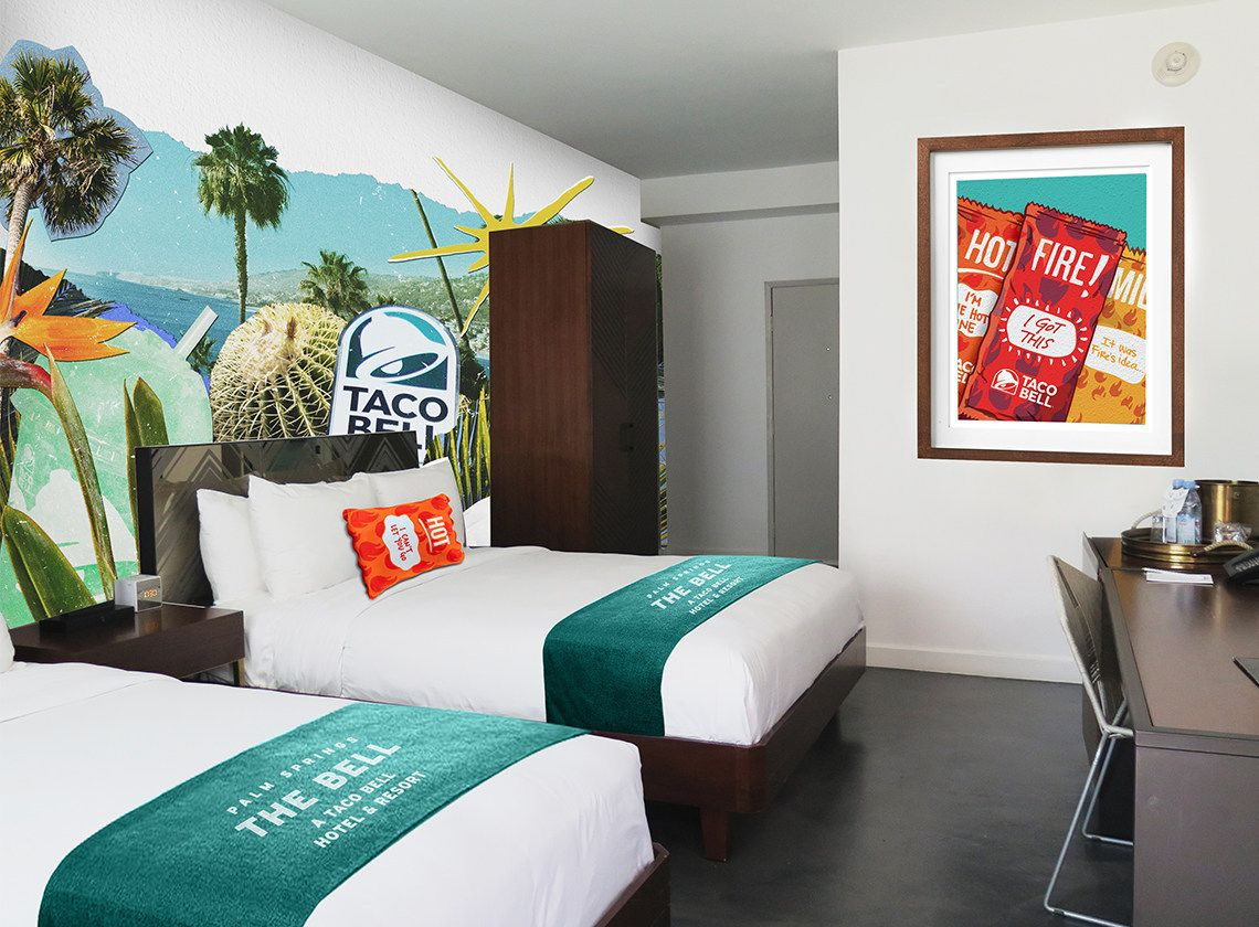 "Set Your Alarms! Taco Bell Announces ""The Bell"" Hotel Reservations To Go Live June 27"