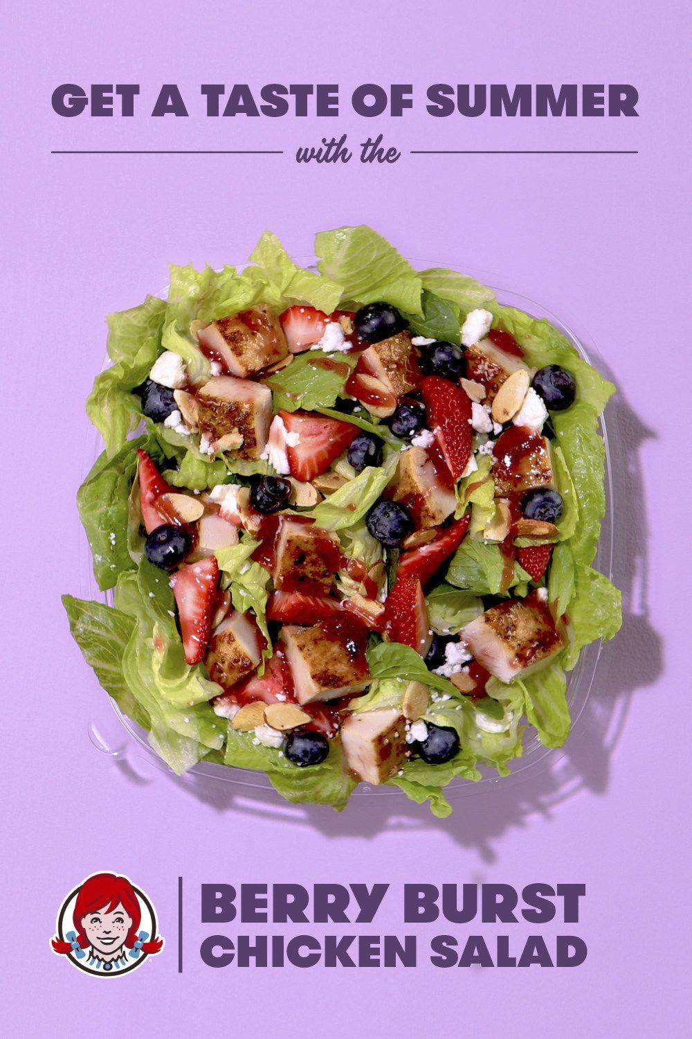Wendy's Freshly Made Berry Burst Chicken Salad Makes an Encore This Summer