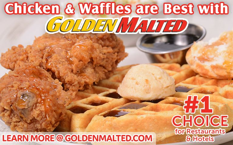 Add Chicken & Waffles to Your Menu - It's Quick & Easy with Golden Malted