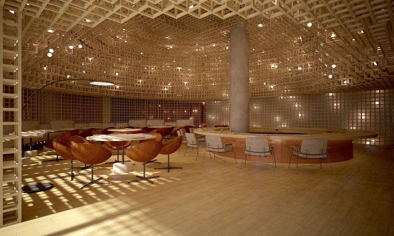 Kosushi Miami's Interior Brings Traditional and Modern Together