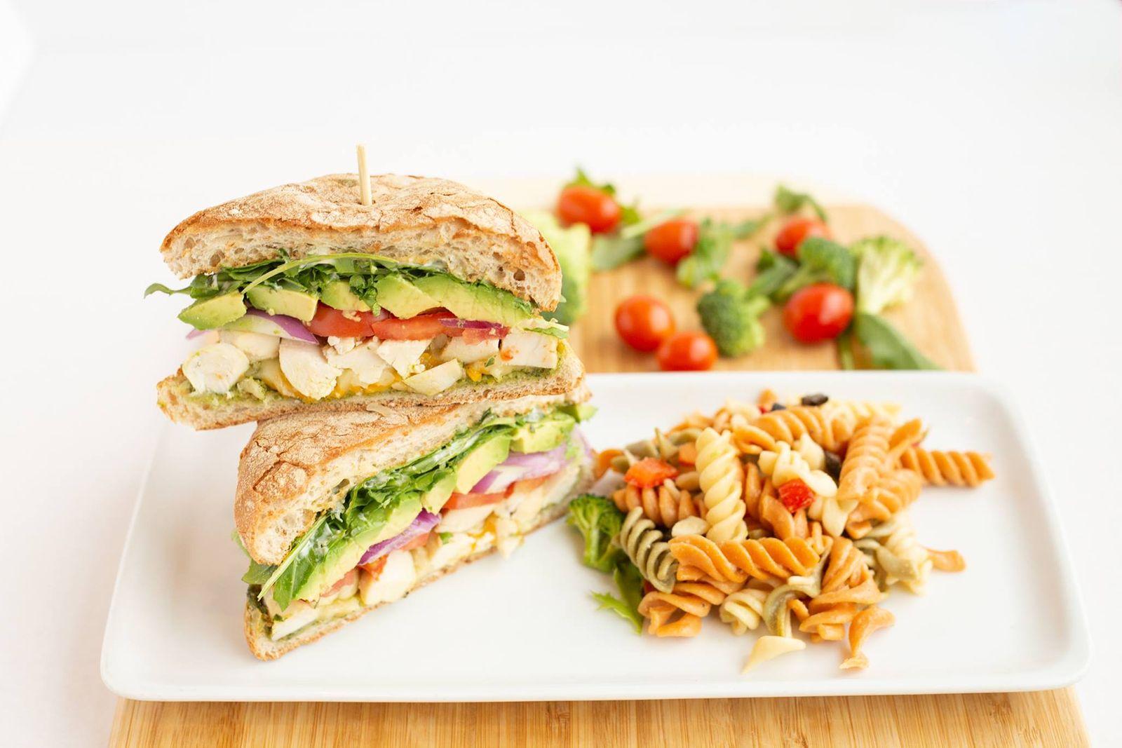 Coolgreens Chicken Fresca Sandwich