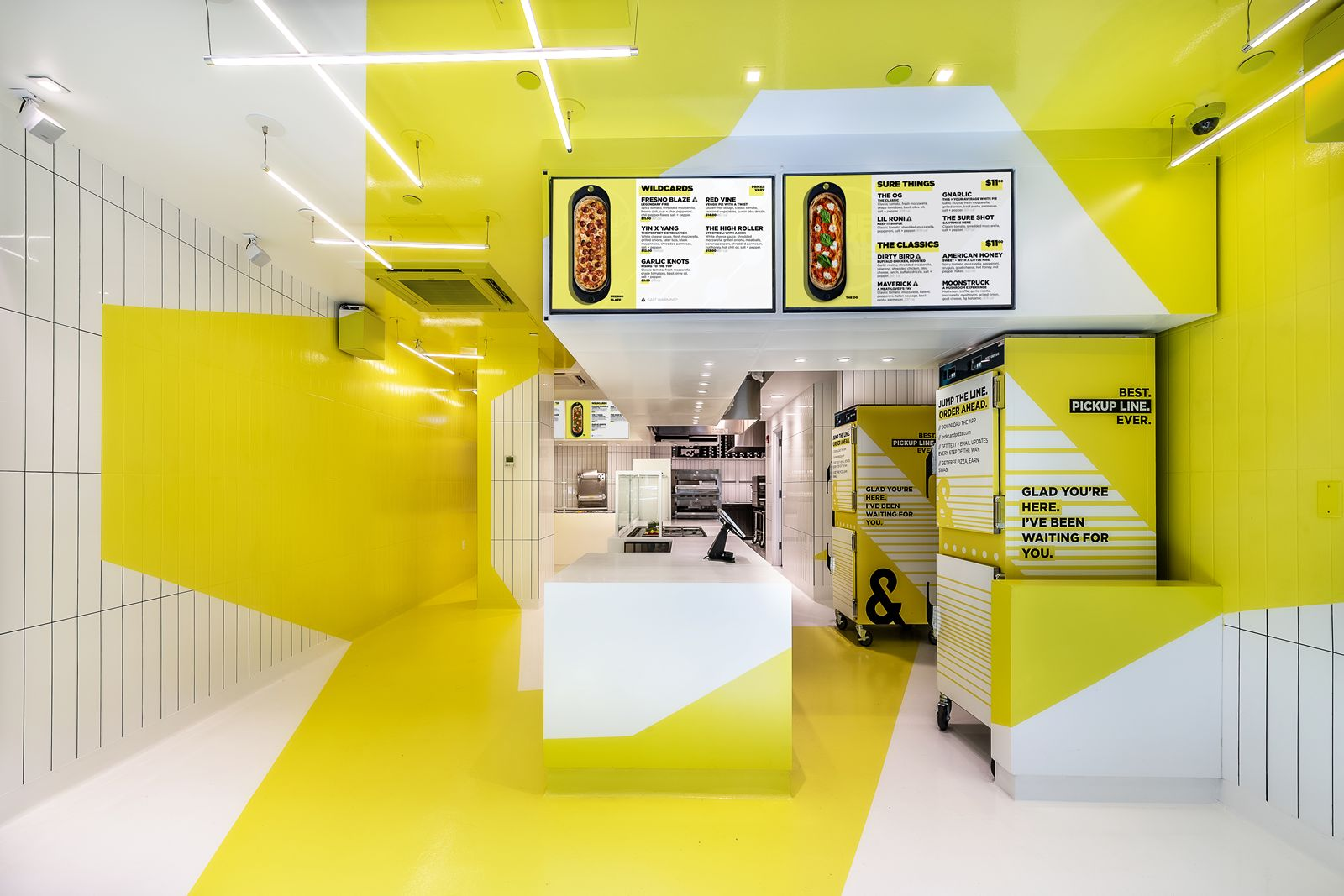 Heath Design Group Provides Design for New &Pizza Wall Street Location