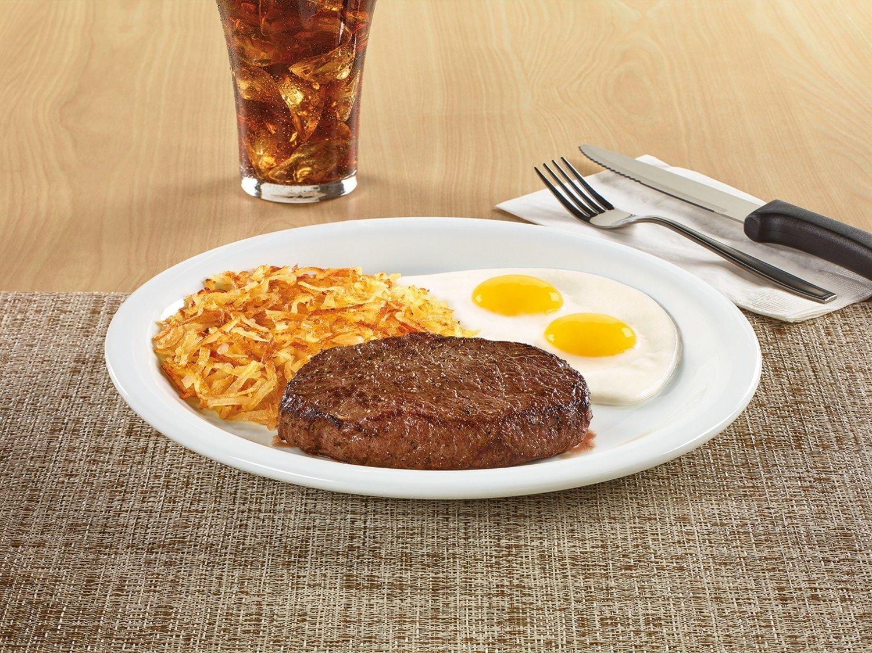 It's Breakfast, It's Dinner, It's Denny's New Sirloin Steak & Eggs For Only $8.99