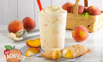 Jack's Celebrates National Peach Month with Limited Time Peach Products