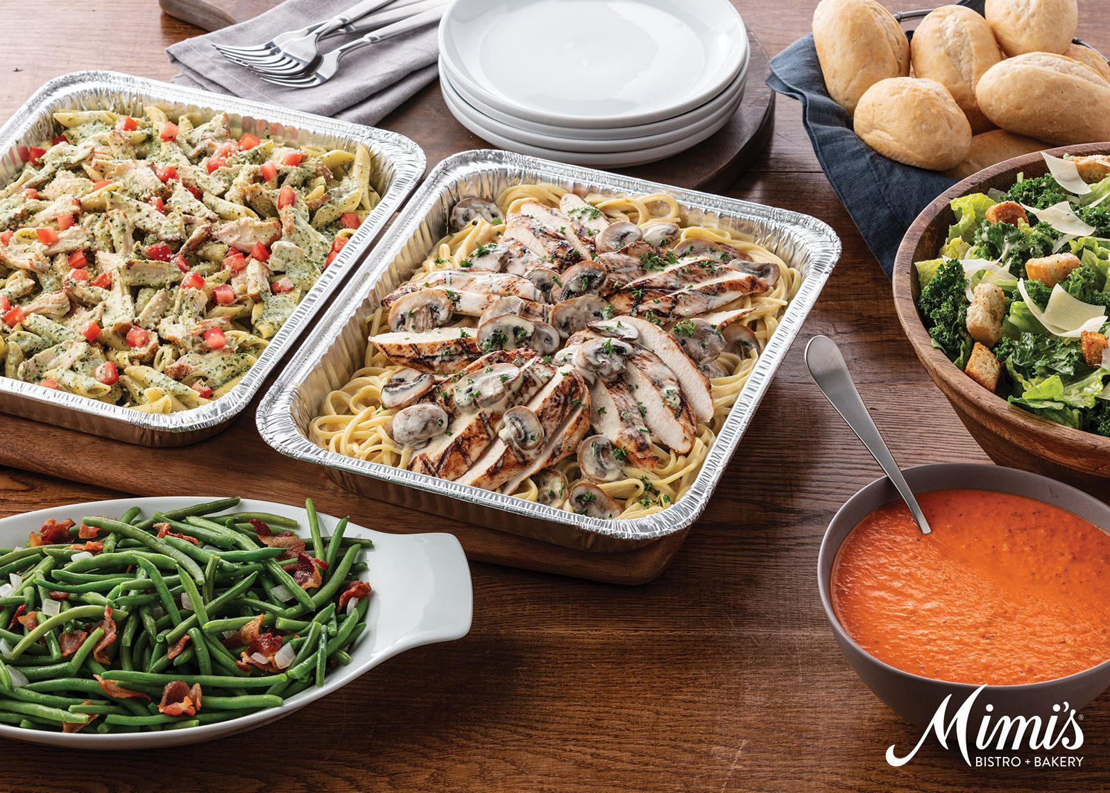 Mimi's Bistro & Bakery Launches New Catering Menu and Online Experience