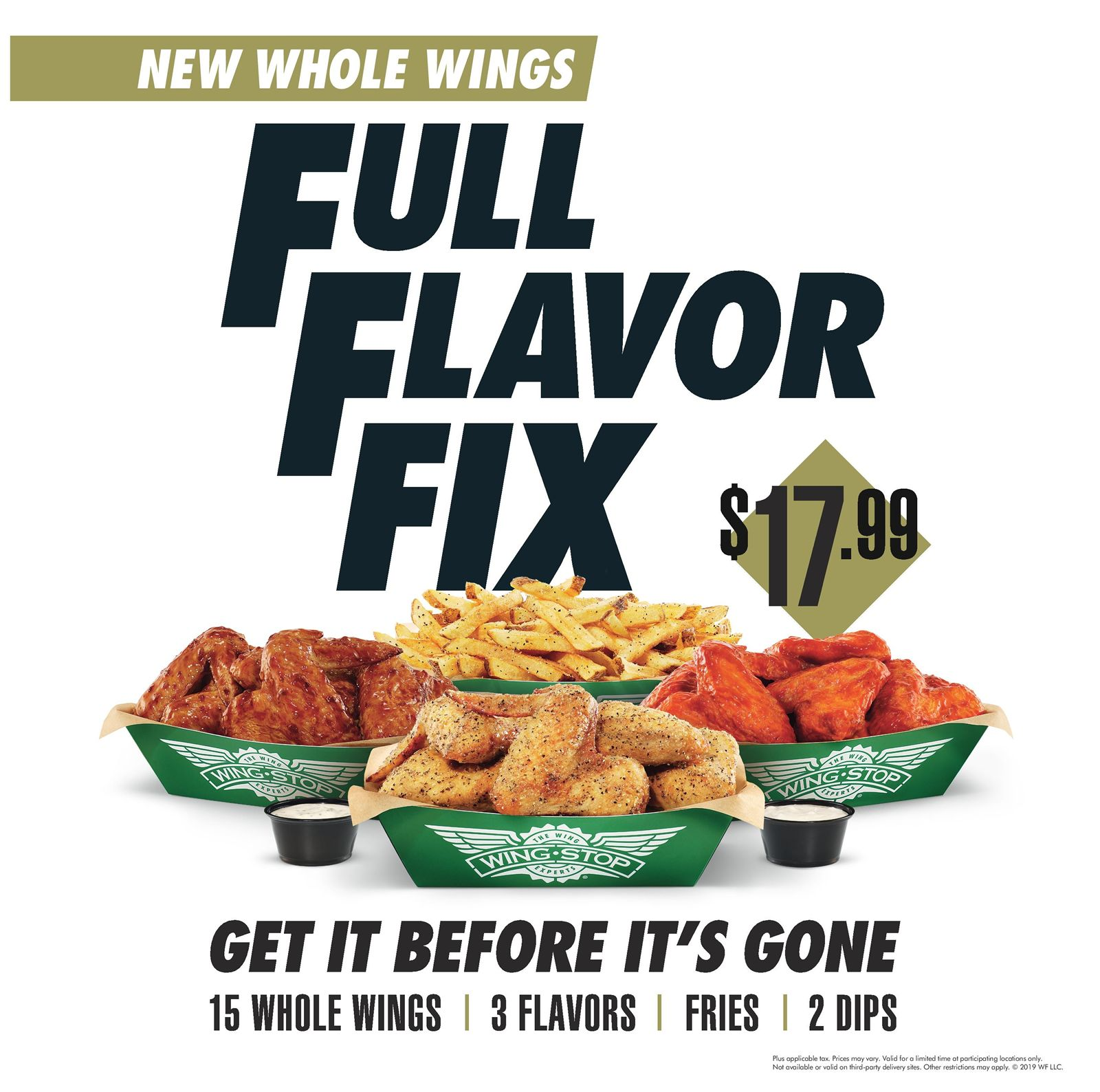 The Wing Experts Expand Menu to Include Crispy Whole Wings & Go All-in With Football