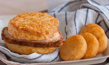 Bojangles' Sizzling Pork Chop Griller Biscuit Returns for a Limited Time