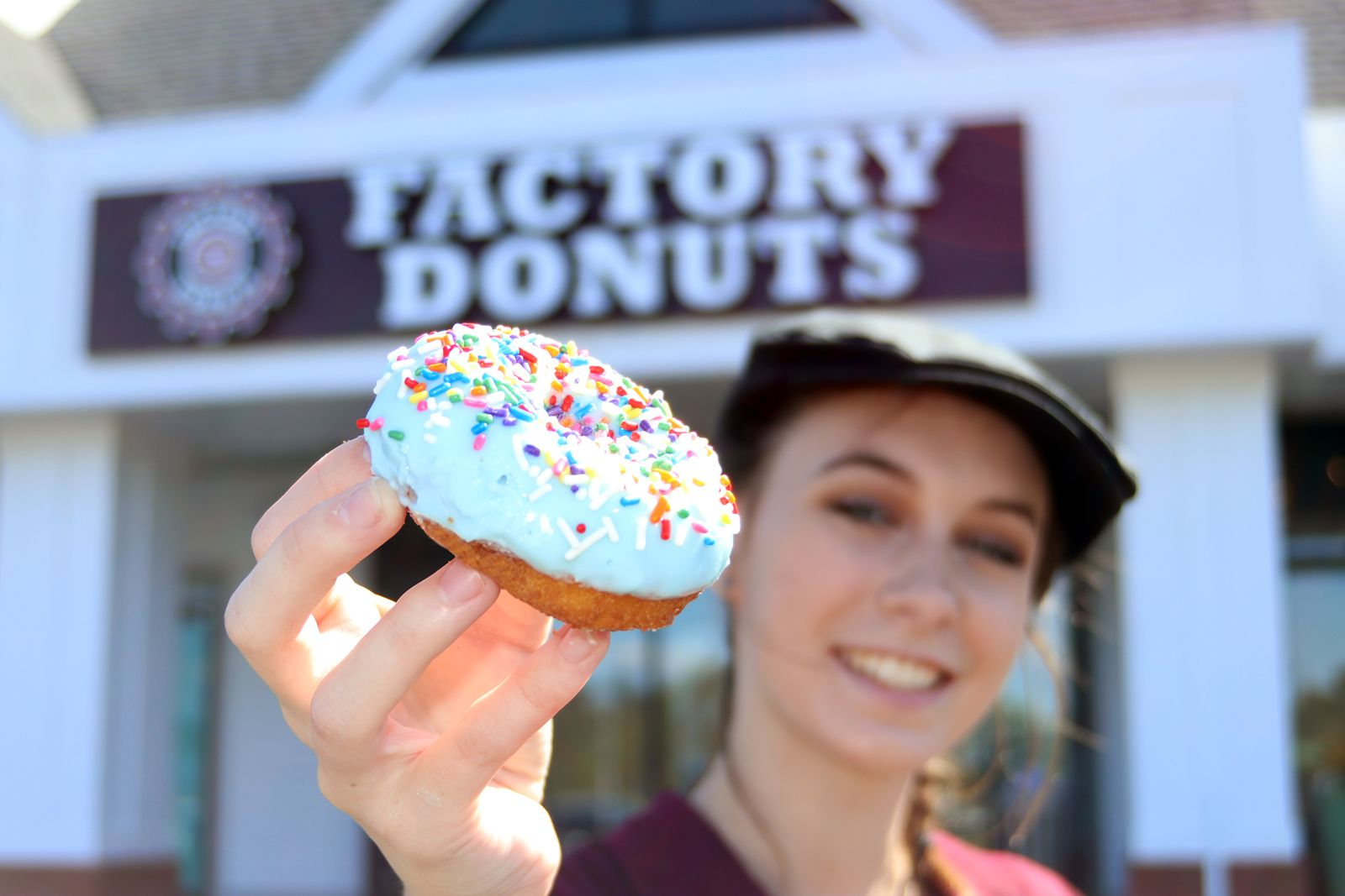 Factory Donuts Celebrates Grand Opening Newtown, PA