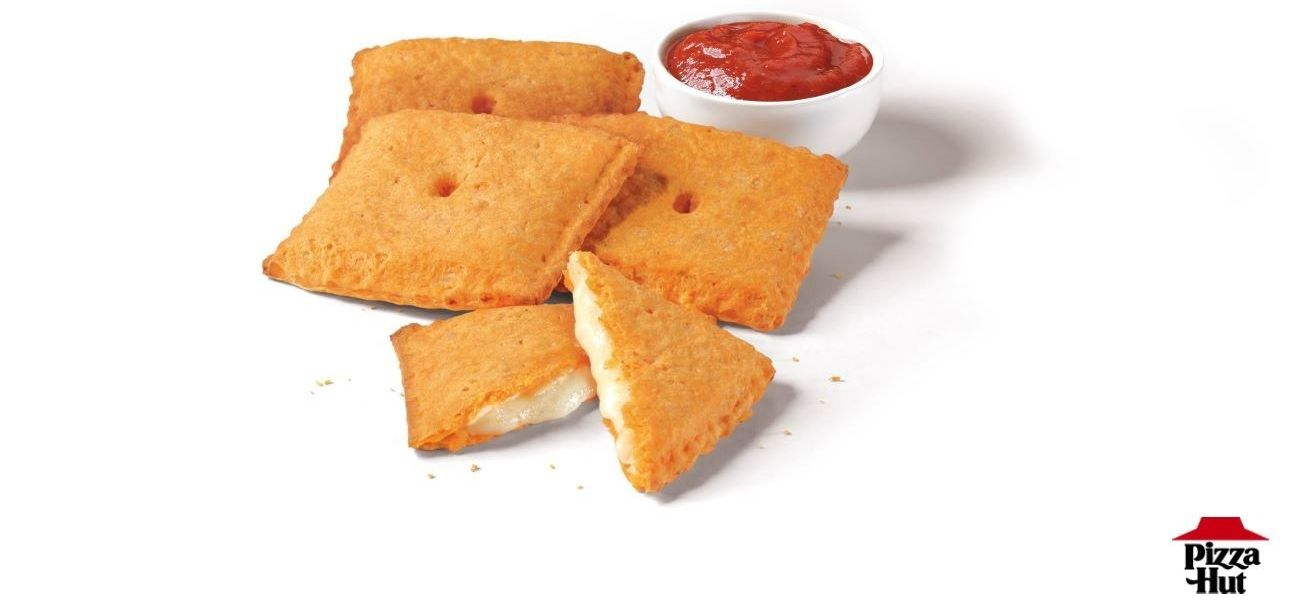 Household Legends Pizza Hut And Cheez-It Join Forces To Introduce You To Your New Favorite Weakness: The Stuffed Cheez-It Pizza