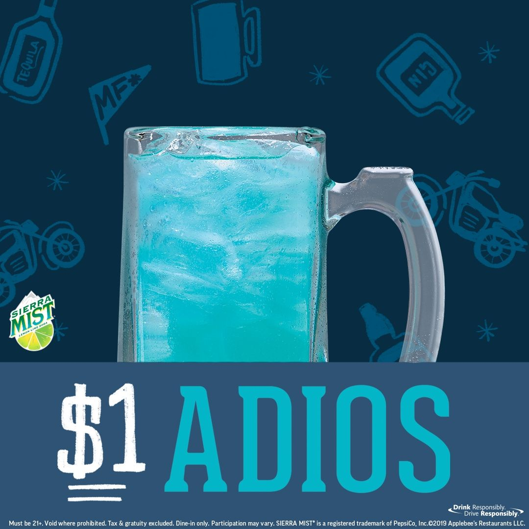 See Ya'll Later! Applebee's $1 ADIOS is Here