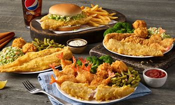 Captain D's offers guests their most popular seafood dishes with $5.99 Fan Favorites this Holiday Season