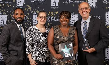 Krystal Wins ATD Best Award for Success Through Talent Development