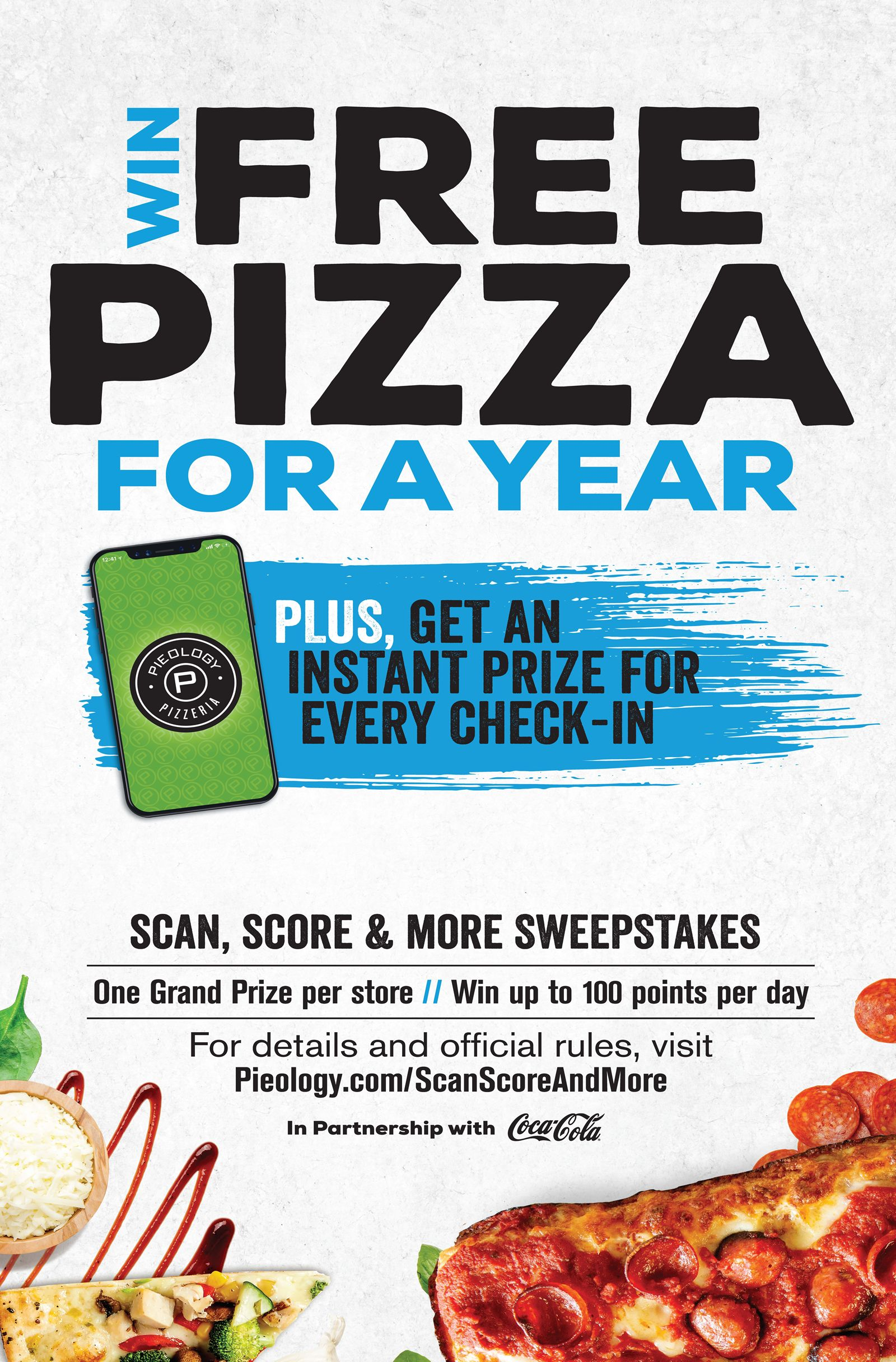 "Pieology Celebrates National Pizza Month by Rewarding Pizza Lovers with ""Scan, Score & More Sweepstakes"""