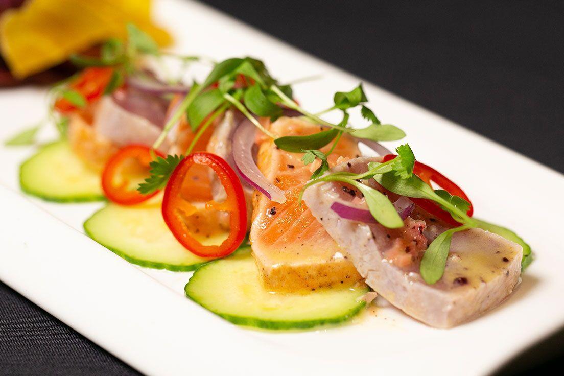 Roy's Tuna & Salmon Kinilaw