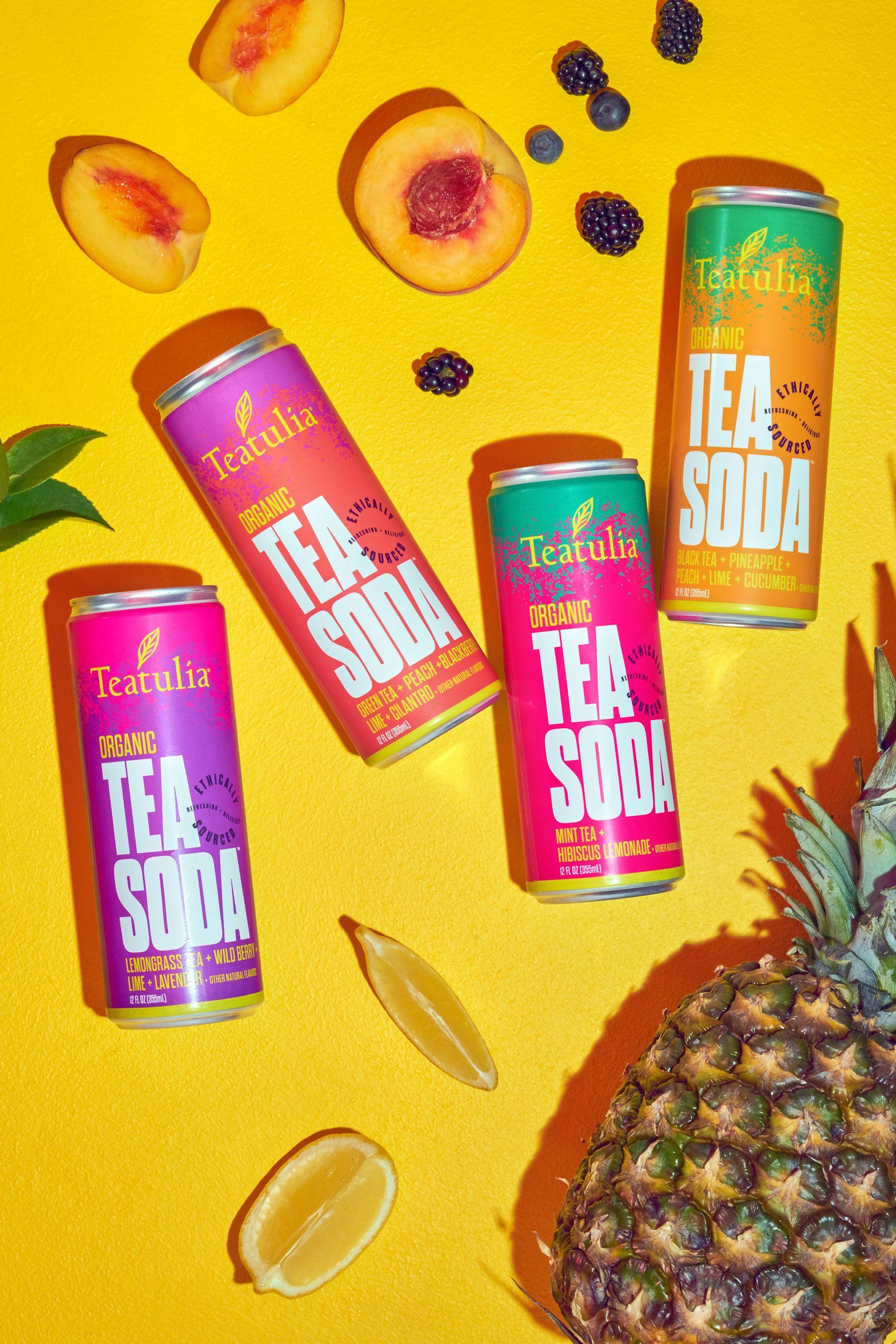 Teatulia Organic Tea Soda Expands to the East Coast