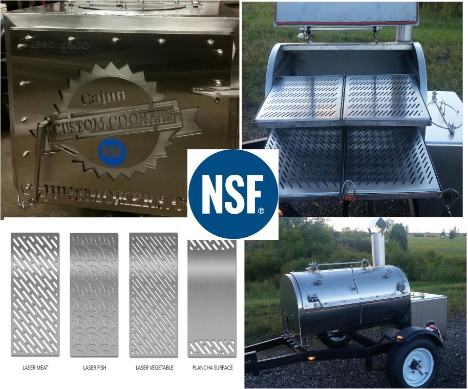 Cajun Custom Cookers LLC Earns NSF International Certification for Its North Woods Edition Reverse Flow BBQ Smokers