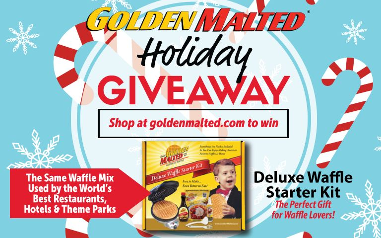 Celebrate the Holidays with America's Favorite Waffles - Limited Time Holiday Giveaway