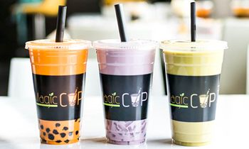 High-Quality Bubble Tea Concept – Magic Cup Cafe to Franchise Five New Locations