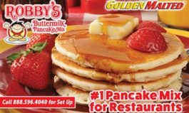 Add Robby's Buttermilk Pancakes to Your Menu - Golden Malted Makes it Easy