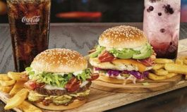 Bacon Curry and Zen Chicken Burgers Bring Asian-Inspired Taste.Full Flavors to Red Robin Gourmet Burgers and Brews