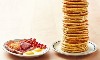 "IHOP Brings Back Free ""All You Can Eat Pancakes"" with the Purchase of Any Breakfast Combo*"
