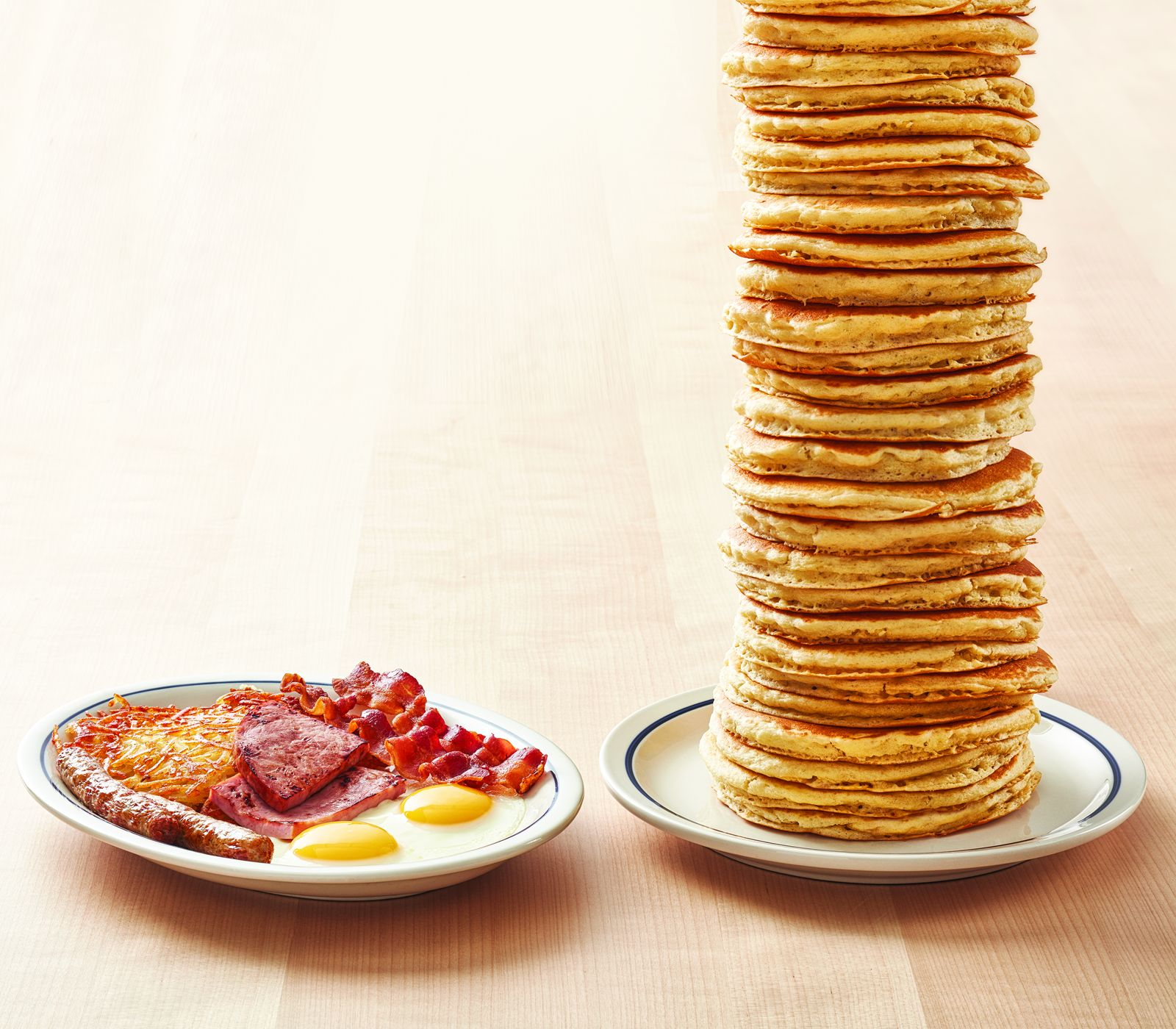 """IHOP Brings Back Free """"All You Can Eat Pancakes"""" with the Purchase of Any Breakfast Combo*"""