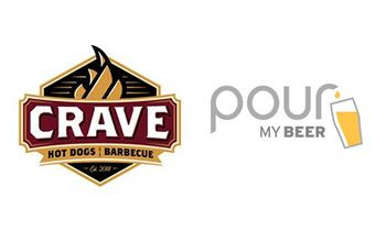 PourMyBeer and Crave Hot Dogs and BBQ Announce Partnership