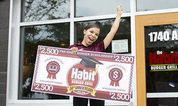 The Habit Burger Grill Announces Winners of 50th Anniversary Scholarship Competition