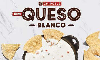 Chipotle Launches New Queso Blanco Nationwide