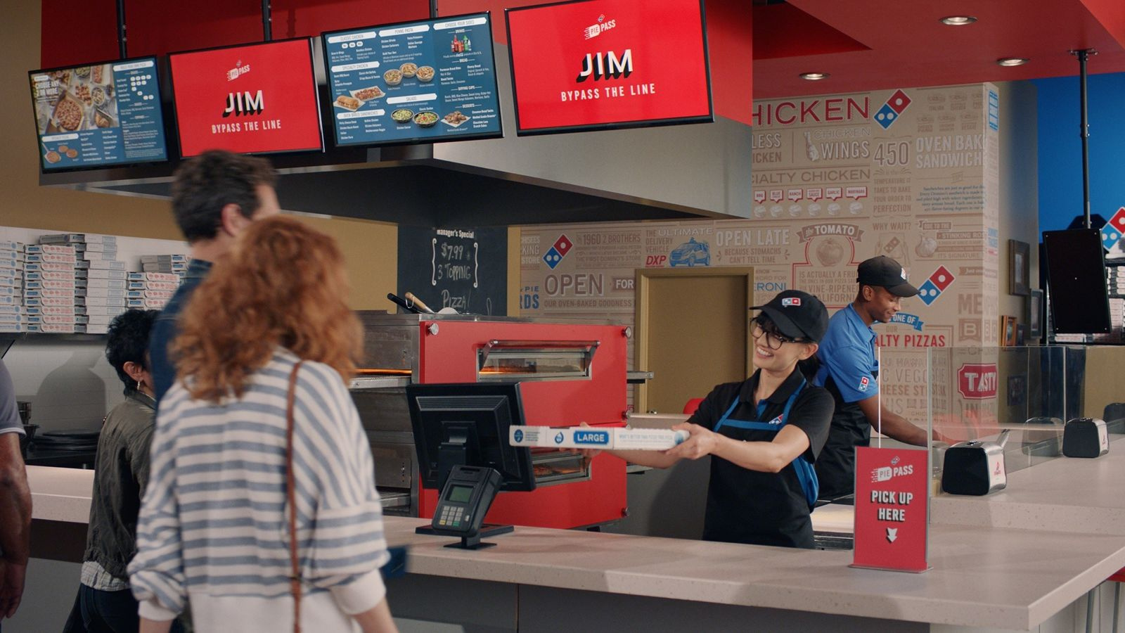 Domino's New Pie Pass Technology Makes Pizza Pickup Even Easier