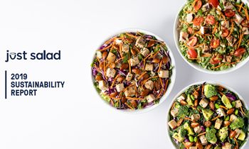 Just Salad Announces 2019 Sustainability Accomplishments and Long-term Goals in Inaugural Sustainability Report